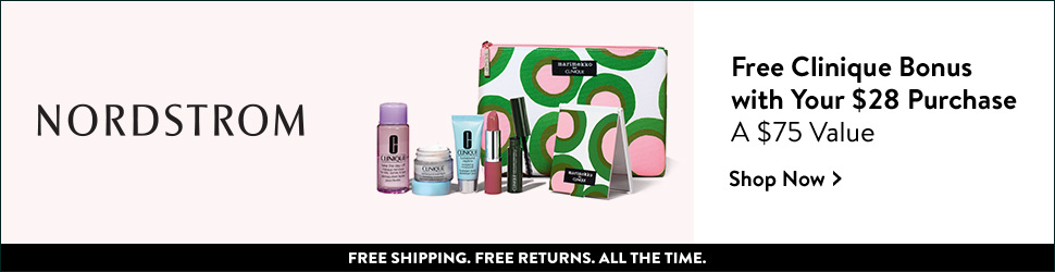 Choose a FREE 7-piece Clinique bonus with your $28 purchase. FREE shipping, FREE returns.